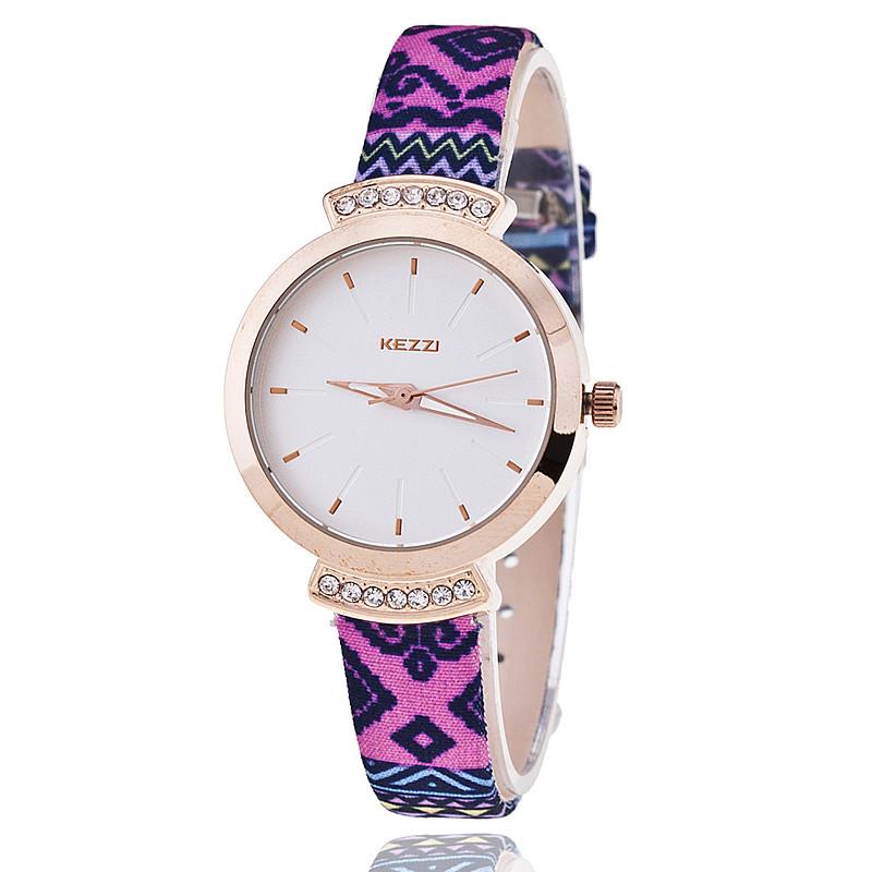 kezzi k 946 brand leather watches dress
