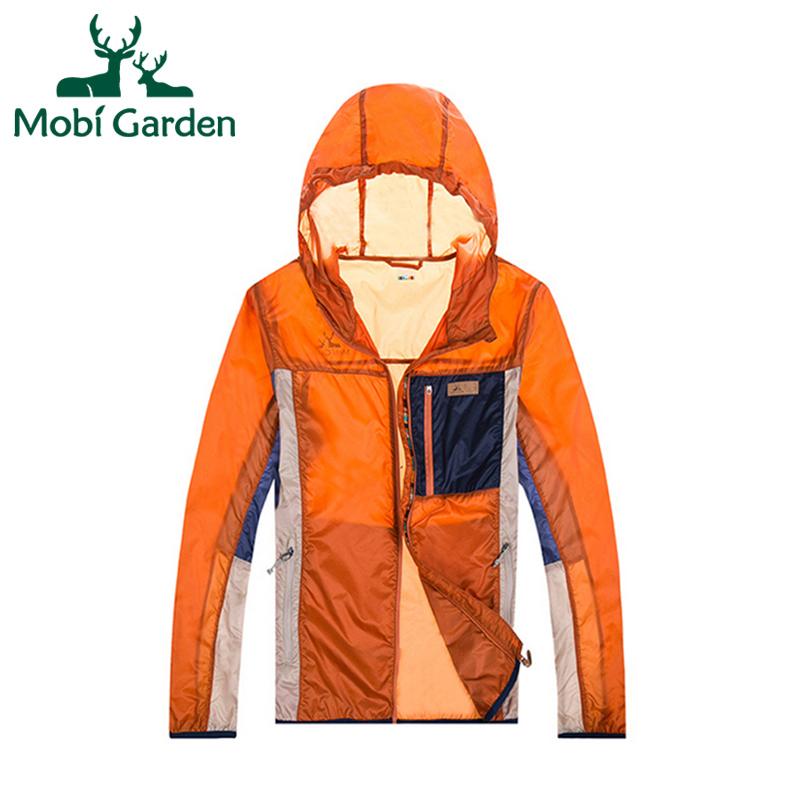 Mobi Garden Outdoor Climbing Camping Waterproof Jacket Outdoor Jacket For Couples Softshell Jacket Women Sport ZWA1416026 MWF174