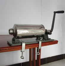 Бытовые 5-литров Горизонтальный шприц из нержавеющей стали для набивки колбас
