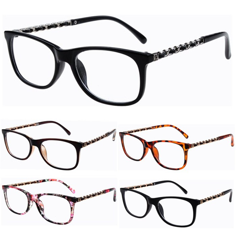 Fashion Women Girl Cute Elegant Designer Star Retro Frame Clear Lens glasses plain mirror Nerd Geek Eyeglass Spectacles Eyewear(China (Mainland))