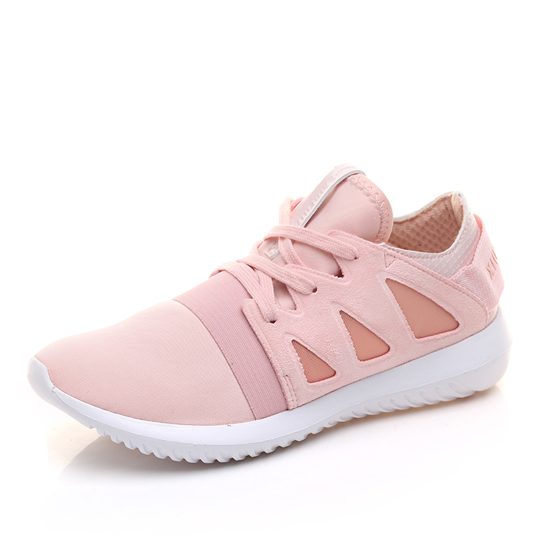 Women Sneakers Sport Brand Popular Running Shoes White /Pink Low Top Sneakers Zapatillas Mujer Deporte Athletic Footwear Brands(China (Mainland))