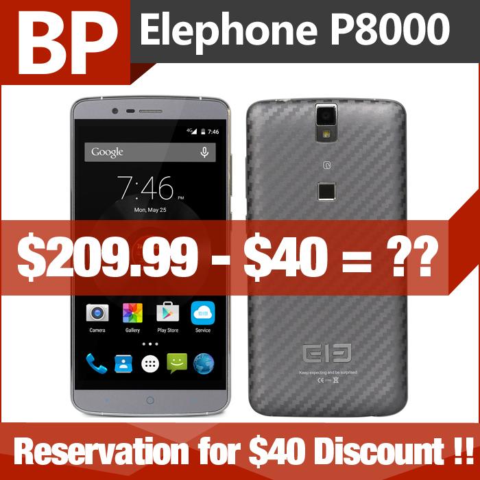 Мобильный телефон Elephone P8000 5.5 FHD 5.1 4G LTE MTK6753 64 bit 3 13 Elephone P8000 (Presell) планшет самсунг галакси ноте 2014 8000 64 гб