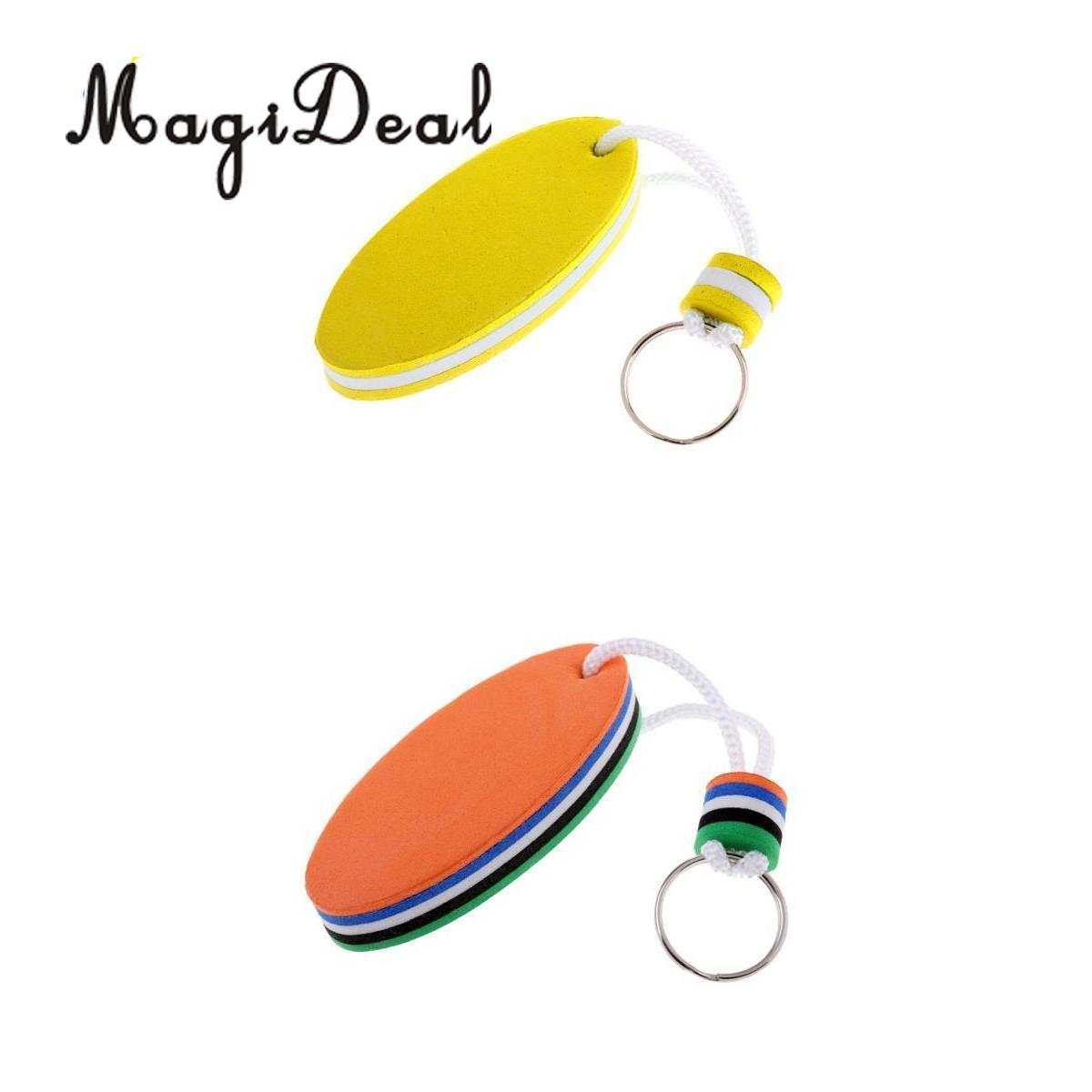 Marine 2Pcs Sailing Boating Keyring Floating Key Ring For Kayak Canoe Yacht Boat Surfboard Rafting Accessories
