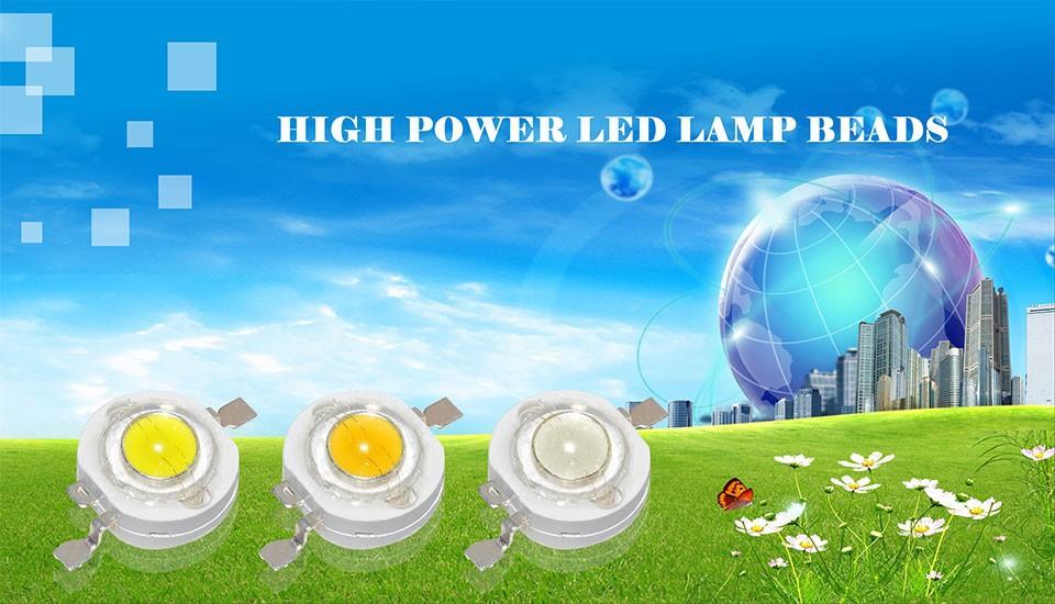 Светодиодная лампа 10 CREE 1W 3W SMD 110/120lm 3W /18w