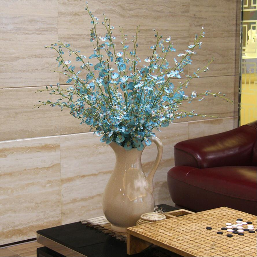 High simulation flower Oncidium modern and stylish home furnishings floral corsage multicolor(China (Mainland))