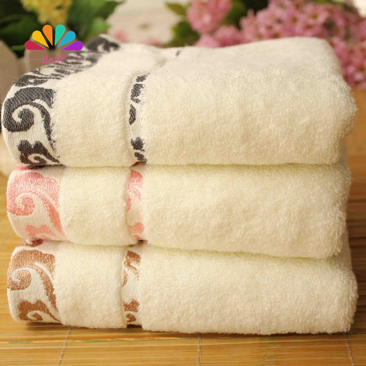TLFE New White Kids Face Towels Brand Set For Adults 70% Bamboo 30% Cotton Hand Towels 34*75cm toalha 4pcs/lot serviet