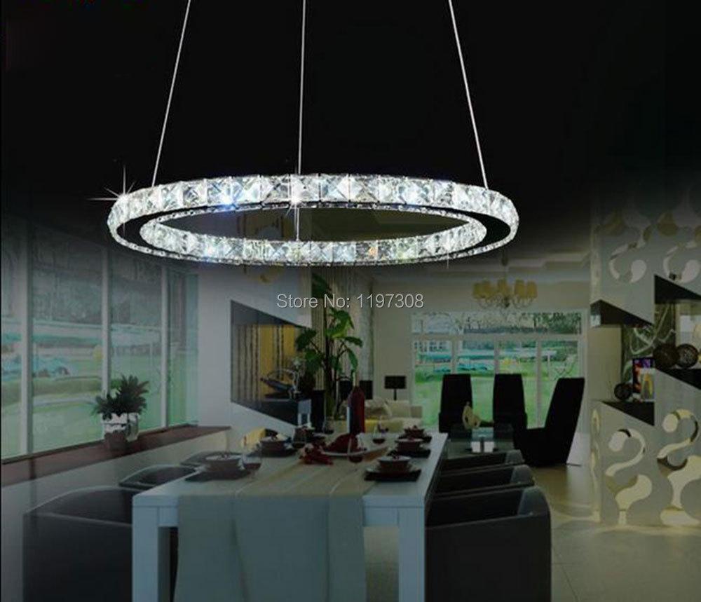 Modern LED crystal chandelier lights lamp fixture lustres bedroom kitchen D20cm D30cm D40cm D50cm D60cm D70cm lampada led lights(China (Mainland))