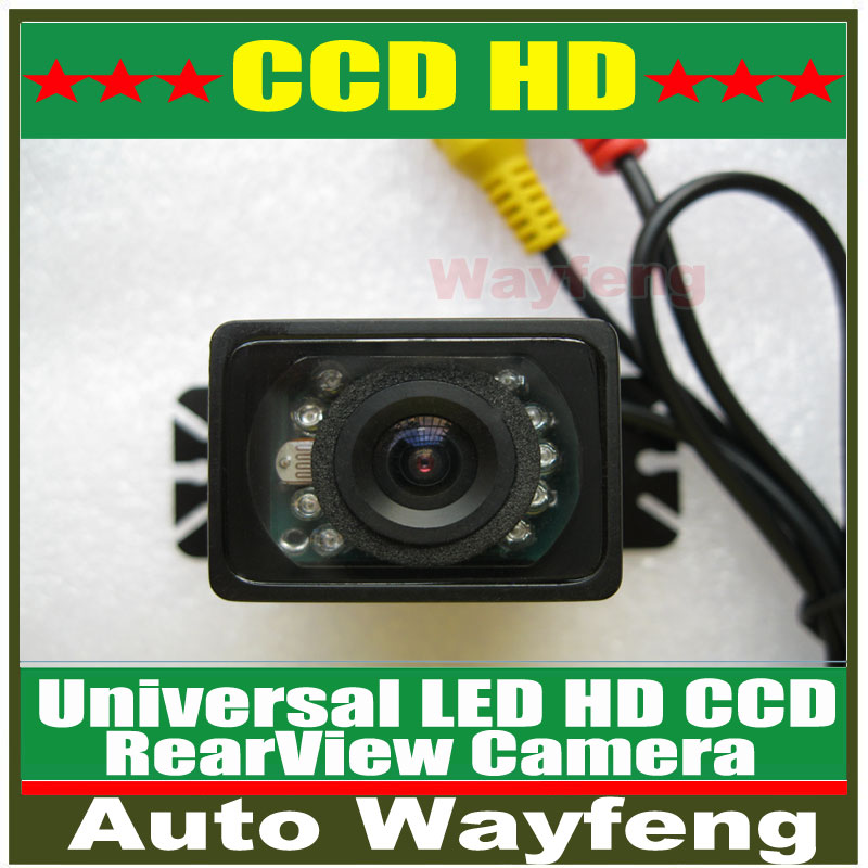 Car CCD HD 9 LED Auto Parking Rearview Wide Angle Waterproof Camera HD CCD Car Rear View Camera Reverse backup Camera(China (Mainland))