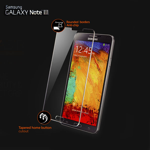 Direct Marketing Explosion-proof Premium Tempered Glass Screen Protector Protective film For Samsung Galaxy Note 3 III N9000(China (Mainland))