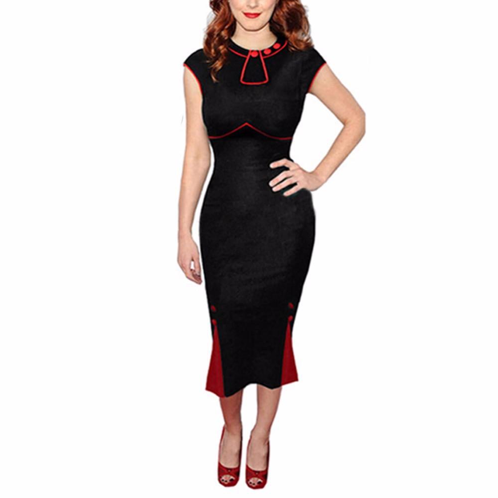 Buy Summer Style Summer Dress 2015 New Fashion Vestidos Party Dress Vintage