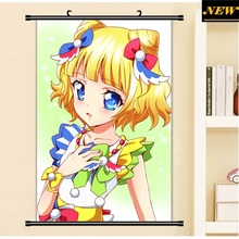 40X60CM Minami Mirei PriPara Prism Paradise cameltoe loli cartoon anime wall picture cloth mural scroll poster canvas painting