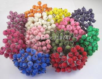 Foam Manual Material Diy Fruit Decoration Flower 20pcs /lot 027023002