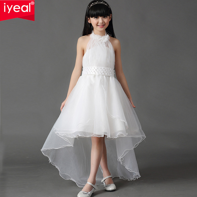 new elegant flower girl dresses for weddings sleeveless