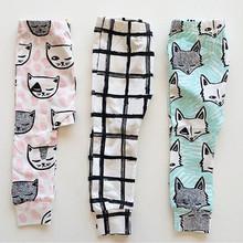 1-4 year Baby Boys Girls Harem Pants Fox Teepee Pants For Toddler Baby Girl Boy Harem Pants(China (Mainland))