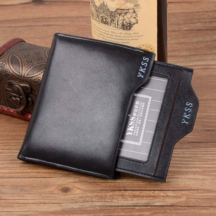 New 2015 Men Wallets With Coin Bag Zipper Famous Brand Mens Wallet Male Money Purses Wallets New Design Top Men Wallet(China (Mainland))