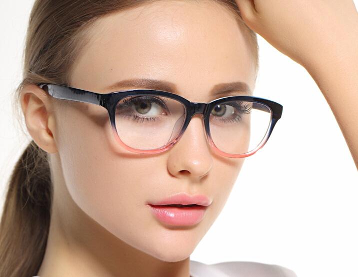 Female Women Multi colors Eyeglasses Frames Eyewear Eyes Vision Care Optical Spectacles New(China (Mainland))