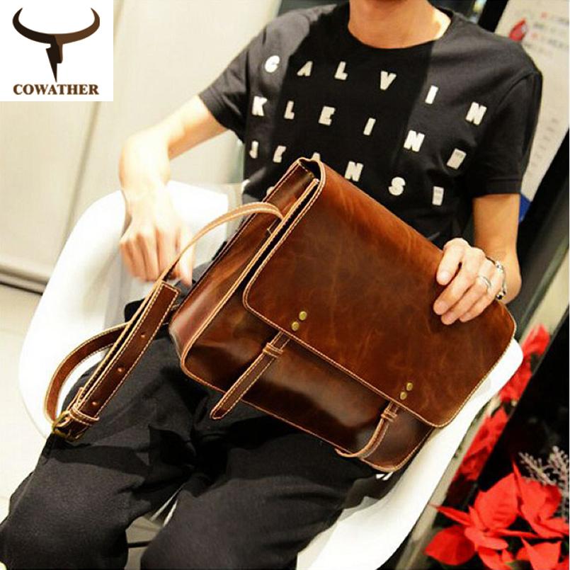 Retro Single Shoulder Cross-body Bag  Europe And America Style PU