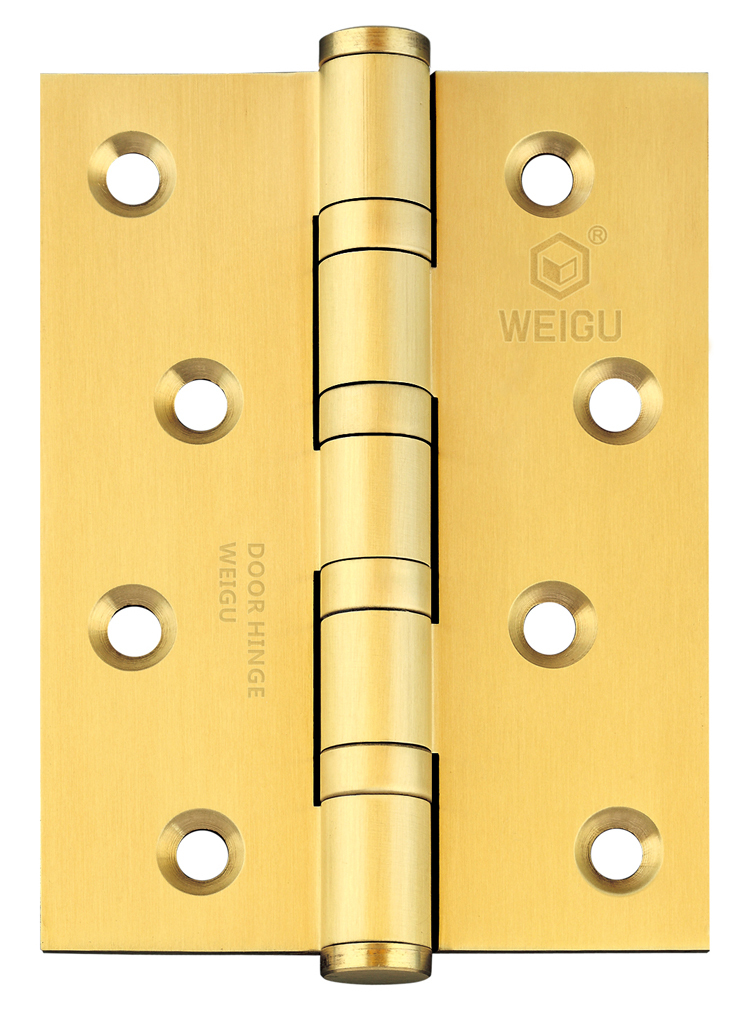 Solid Brass Door Ball Bearing Hinge SB Finished (4inch *3 inch *3.0mm)(China (Mainland))
