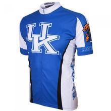Buy 2016 new men HK short sleeve blue cycling jersey cool bike shirt ride tops novelty cycling garments for $13.40 in AliExpress store