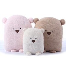 candice guo! super cute fat bear plush toy cushion hand warm soft lovely doudou bear father and son nap pillow gift 1pc(China (Mainland))