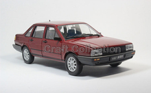 * Red 1:18 Volkswagen VW Santana FX Diecast Model Car Metal Sedan Modell Autos Festival Gifts Mini Vehicle - Craft Collection store