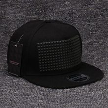 Fancy 3d snapback caps good raised square pyramid hip hop hats for girls and boys(China (Mainland))