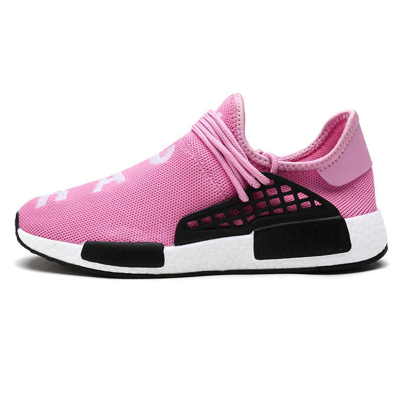Fashion Breathable Lace-up shoes New Man Women Pu Zapatillas Deportivas Mujer Mesh shoes Human Race Casual Shoes Unisex Socks(China (Mainland))