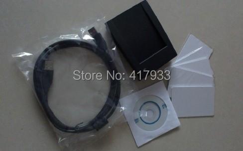 LF Passive Animal Tag RFID Desktop Reader/Writer Work with Hitag-S,EM4305 ISO 11784/5(China (Mainland))