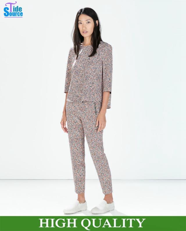 Original 2014 New Women Suit With Pants Business Suits Formal Office Suits Plus