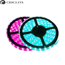 Buy Chiclits LED Strip Lights12V 5M 2835SMD Neon Flexible Tira Led Lighting IP20 IP65 Waterproof Led Tape Lamp Christmas Holiday for $4.39 in AliExpress store