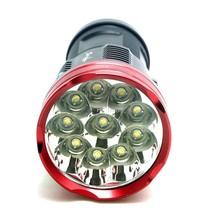 16000 lumens SKYRAY King 10T6 LED flashlamp 10 x CREE XM-L T6 LED Flashlight Torch Lamp Light(China (Mainland))
