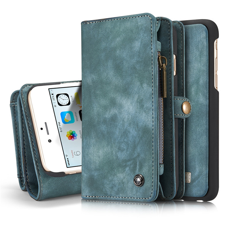 Retro Cowboy style Leather Case for iPhone 6 6S 4.7 inch Wallet Card holder Phone Cover for iPhone 6 Plus 6s Plus 5.5 inch(China (Mainland))
