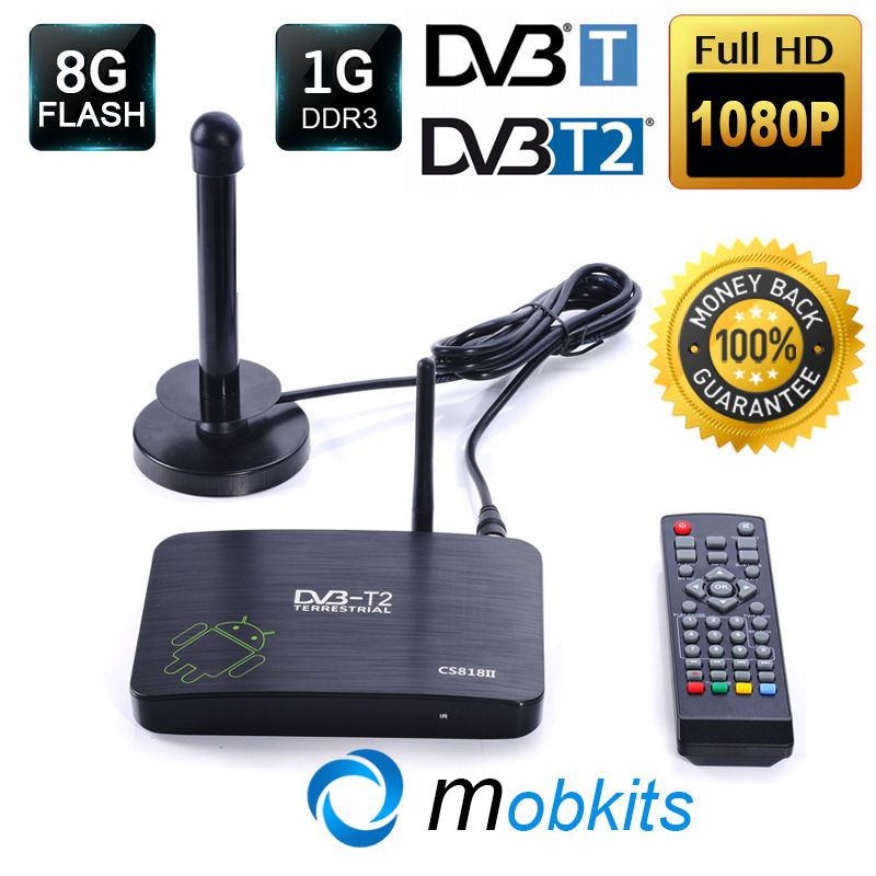 DVB T2 Android TV Box HD 1080P DVB-T2 Digital STB PVR Smart TV Box 1G 8G HDMI WiFi IPTV Amlogic8726 XBMC DVB T2 Android Receiver(China (Mainland))