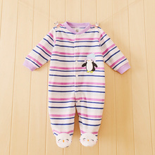 Brand Unisex Baby Clothes Newborn Baby Long Sleeve Boy Girl Jumpsuits Spring Winter Roupas de Bebes