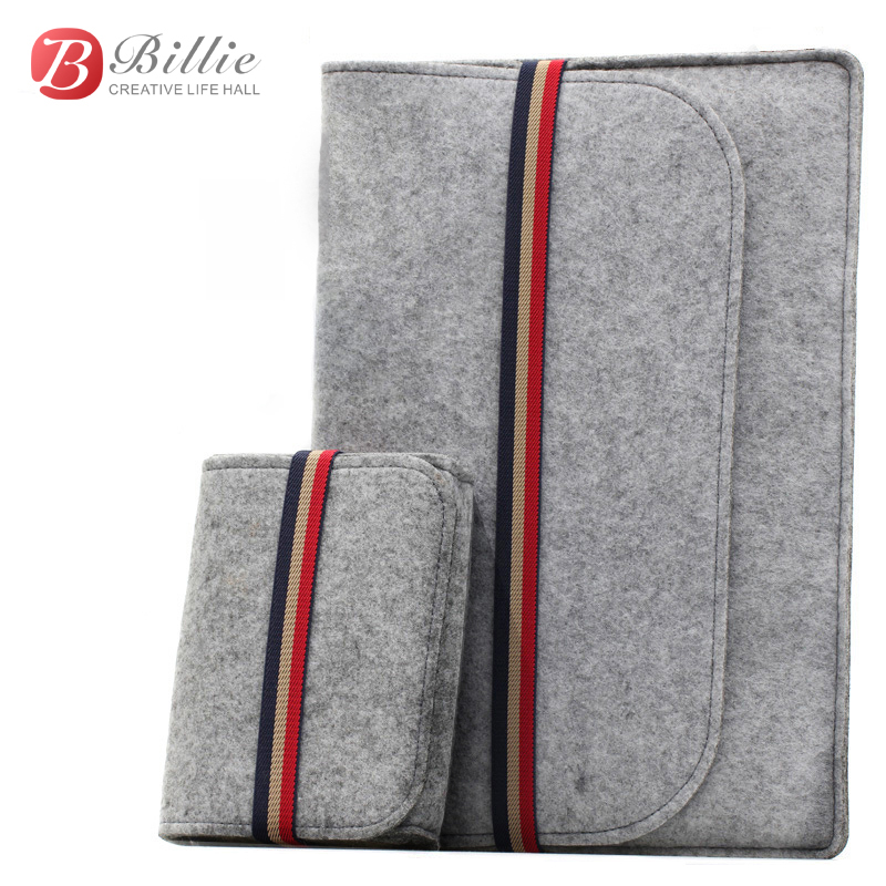 "Newest ! Fashion Laptop Case Cover For Macbook Pro/Air/Retina Notebook Sleeve bag 11""12""13"" Wool Felt Ultrabook Sleeve Pouch Bag(China (Mainland))"