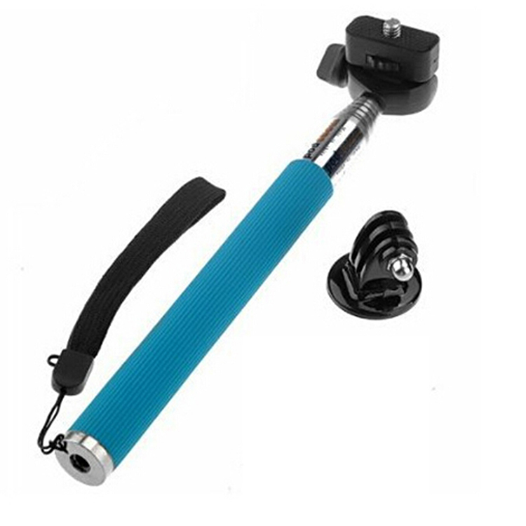 go pro tripod tripe adapter extendable handheld selfie stick monopod for gopro hero 3 2 1 3 4. Black Bedroom Furniture Sets. Home Design Ideas
