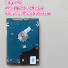 2016.05 MB Star SD Connect C4 Software+ ICOM A2 For BMW  Software 2in1 1TB HDD sata hdd fit in 95% laptop(China (Mainland))