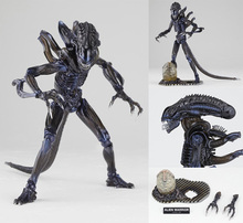 HOT! Revo Revoltech Alien Warrior 1986 PVC Action Figure Model Anime Brinquedos LOOSE Toys Xenomorph Collection Free Xmas(China (Mainland))