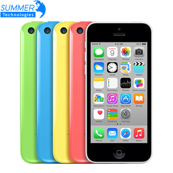 """Первоначально открынный Apple , iPhone 5C сотовых телефонов 16 ГБ 32 ГБ двухъядерный WCDMA WiFi GPS 8MP камера 4.0 """" мобильный телефон"""
