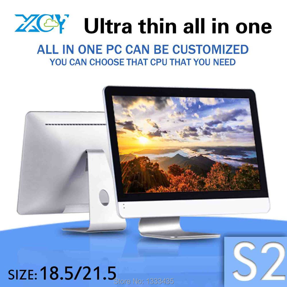 Fan Design and Factory ! XCY S2 4g ram and 500g hdd embedded industrial PC windows 7 all in one touch pc(China (Mainland))