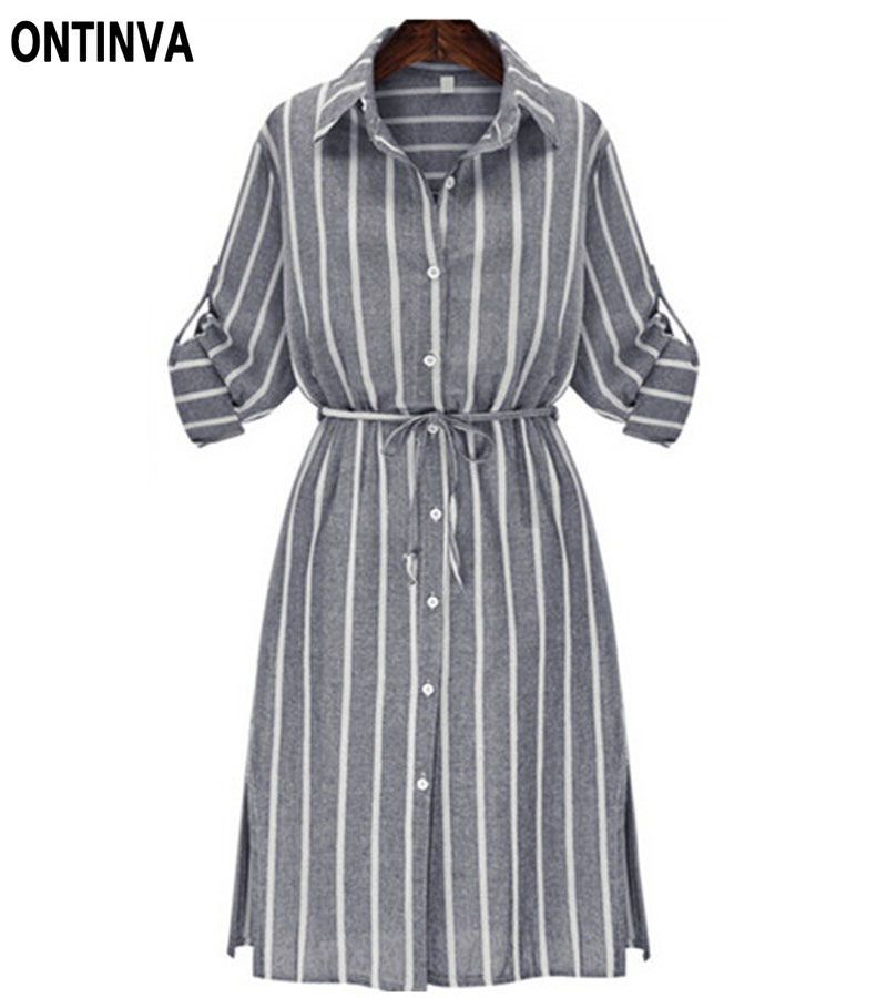 Buy long sleeve shirt dress gray white Buy white dress shirt