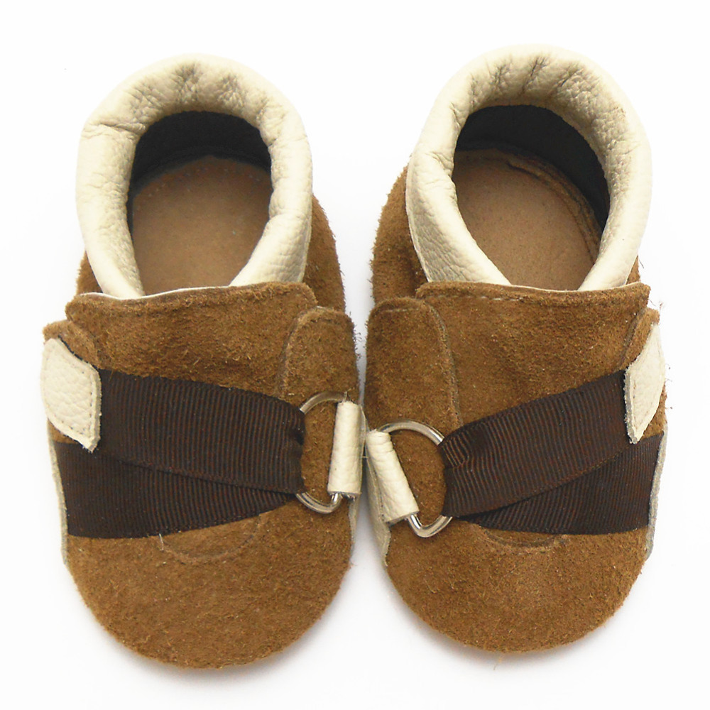 Sayoyo High Quality Genuine Leather Baby Moccasins Buckle Toddler Infant Footwear Soft Soled Baby Shoe Boy Infant Free Shipping()