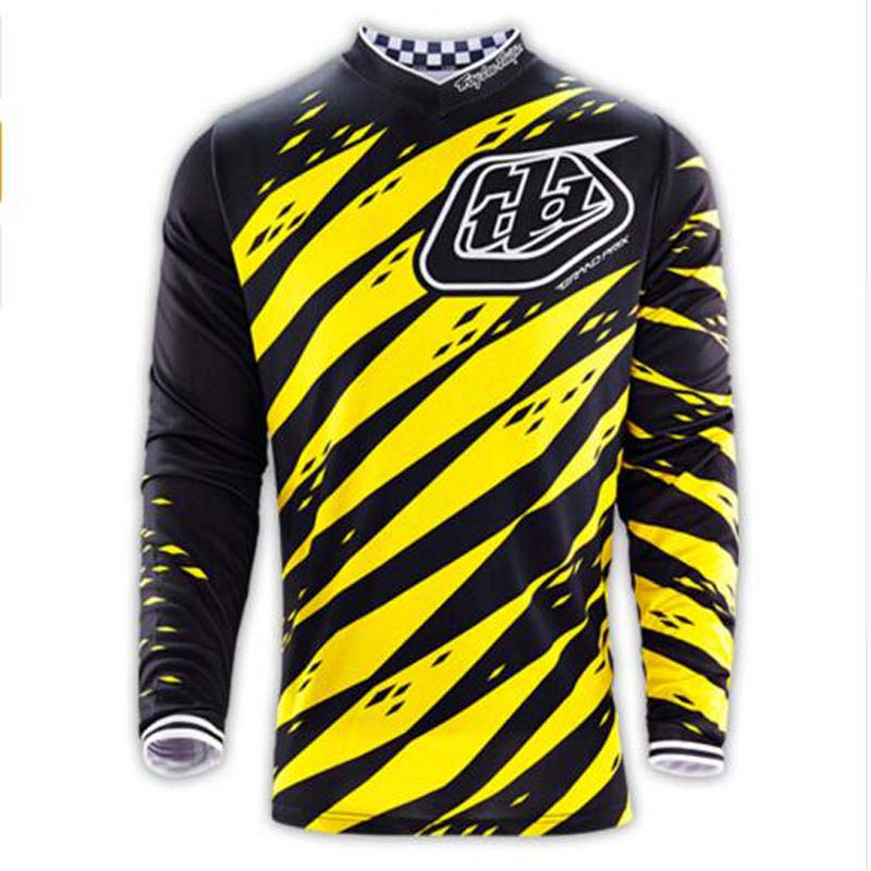 Free shipping 2016 New Brand New Designs Moto GP Jersey TLD Motocross bike Outdoor sports Long-sleeved T-Shirts yellow dirt bike(China (Mainland))