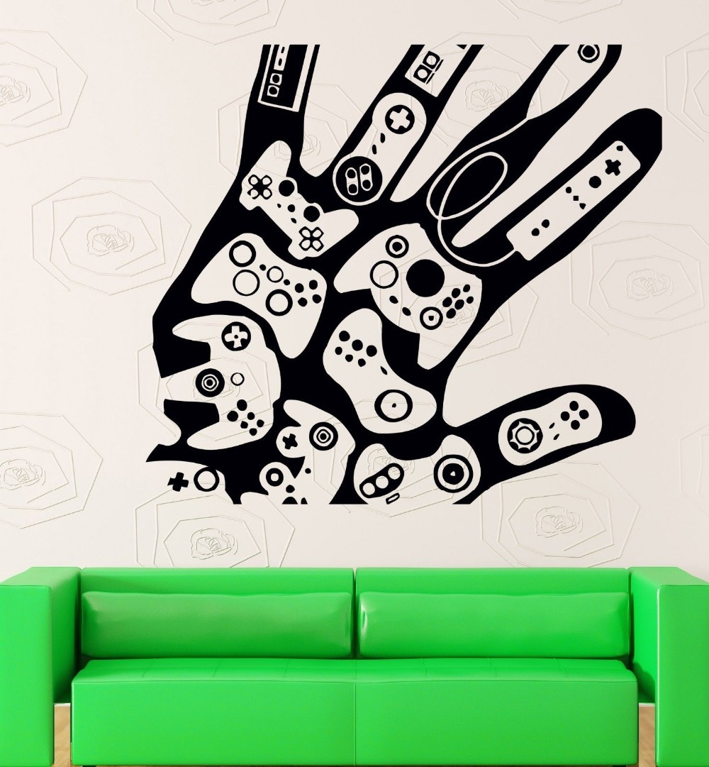 Xbox room decor promotion shop for promotional xbox room for Stickers pared baratos