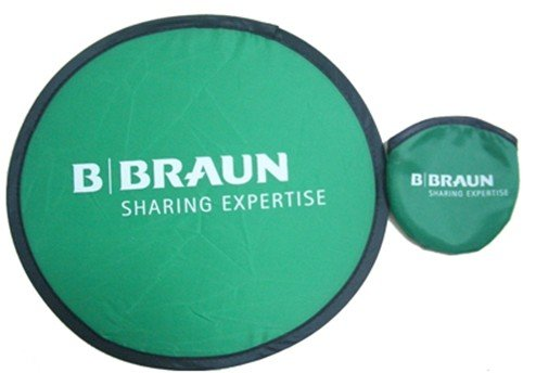 Customized Promotion Gift with Printed LOGO Nylon Foldable Frisbee(China (Mainland))