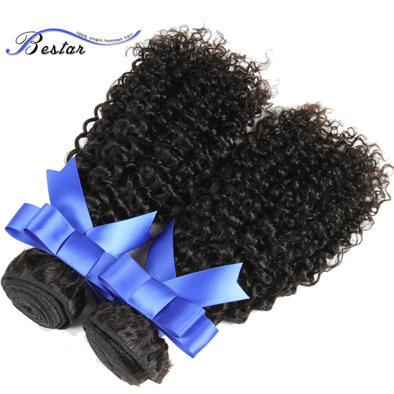 Top Quality Yvonne Brazilian Kinky Curly Virgin Hair 3Pcs Unprocessed Virgin Brazilian Hair Kinky Curly Human Hair Weave Bundles