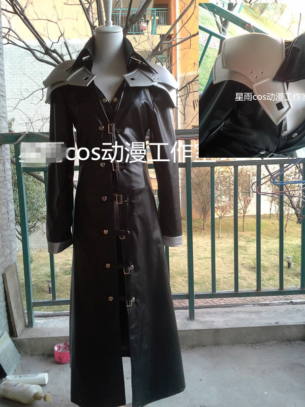 Hallowmas Christmas Game Anime Final Fantasy VII FF7 Sephiroth Fashion Uniforms Cosplay Costume coat*2+pants+ Armor Any SIzeОдежда и ак�е��уары<br><br><br>Aliexpress