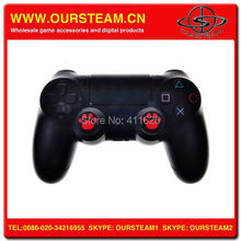 Silicone Skin Case Cover + Joystick Thumbstick Caps For Play Station 4 PS4 Controller