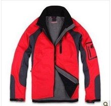 GOOD Quality Outdoor Windbreaker Nano Sphere Men Jacket Color:red(China (Mainland))