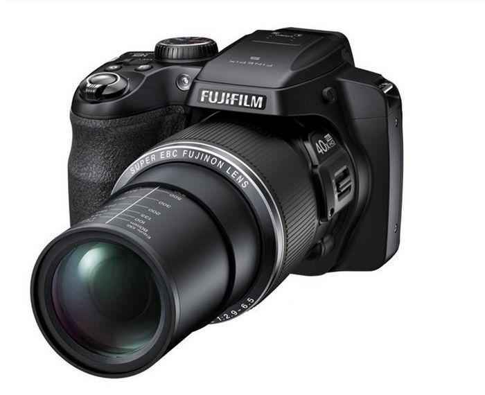 Original Fujifilm <font><b>Fuji</b></font> FinePix S8300 SLR digital camera 42 optical zoom 16.2 million pixel HD video 1080p 3.0-inch LCD screen